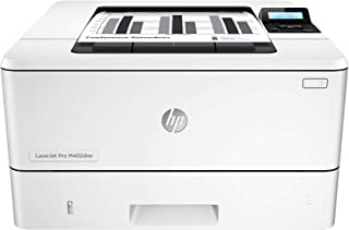 HP Laserjet Pro M402dne - Impresora láser Monocromo (A4 Negro, hasta 38 ppm, de 750 a 4000 páginas al Mes, 1 USB 2.0 de Alta Velocidad, 1 USB Host, 1 Red Gigabit Ethernet 10/100/1000T)