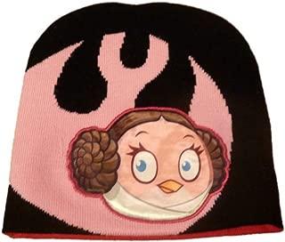 Angry Birds Star Wars Girls Princess Leia Beanie Winter Hat Pink Stocking Cap