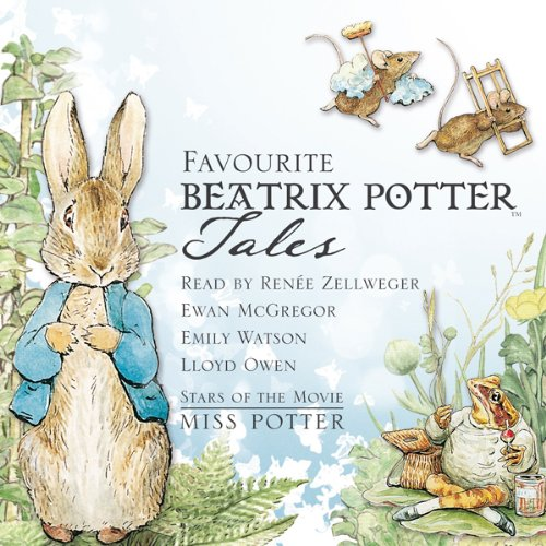 Favourite Beatrix Potter Tales audiobook cover art