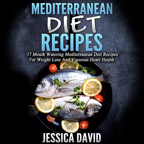 Mediterranean Diet Recipes audiobook cover art