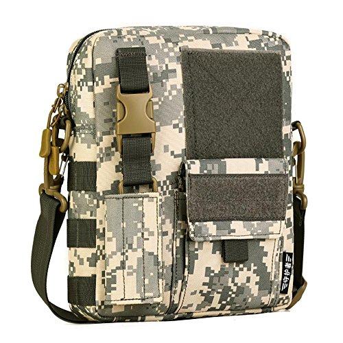 Messenger Bag épaule Homme Voyage Sac en nylon 20 * 25 * 7cm , 5