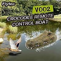 ACHICOO RCボート RCワニ頭 2.4Gリモートコントロール ジョーク いたずら 楽しい ノベルティ シミュレーション スプーフィングおもちゃ ハロウィーン 装飾 子供