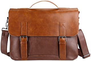 Mens Bag Men's Shoulder Bag Casual Messenger Bag Out Retro Simple Shoulder Bag High capacity
