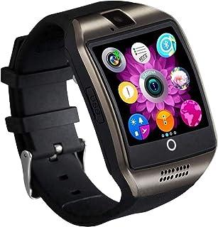 Tipmant Reloj Inteligente Mujer Hombre Smartwatch Pantalla táctil con Ranura para Tarjeta SIM Cámara Podómetro Moviles Bar...