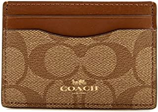 Coach Signature PVC Card Case
