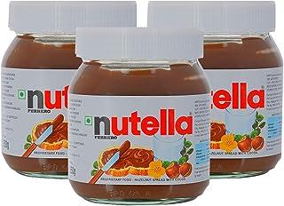 Nutella Chocolate Hazelnut Spread - 3 Pack, 3 x 350 g