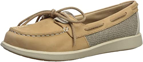 Sperry Wohommes Oasis Loft Boat chaussures, Linen Oat, 12 Medium US