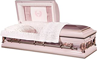 Best pink casket with roses Reviews