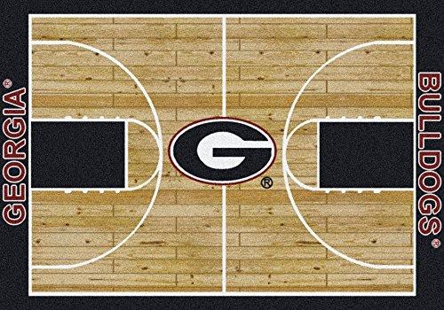 NCAA Home Court Rug - Georgia Bulldogs, 5