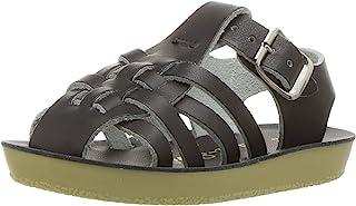 Salt Water Sandals Hoy Shoe Baby Sun-San Sailor Flat, Black, 2 M US Infant