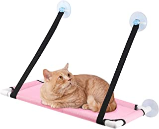 TAME Cat Window Perch,Cat Hammock Cooling Breathable Deck Window Seat Suction Cup Space Saving,Safest Cat Shelves Sunbath ...