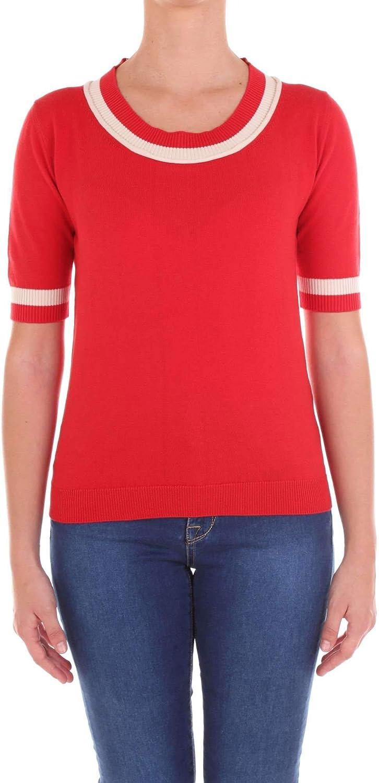 Altea Women's 1851609RED Red Wool Jumper
