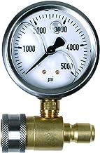 NorthStar Pressure Washer Pressure Gauge - 5000 PSI, 3/8in. Fitting