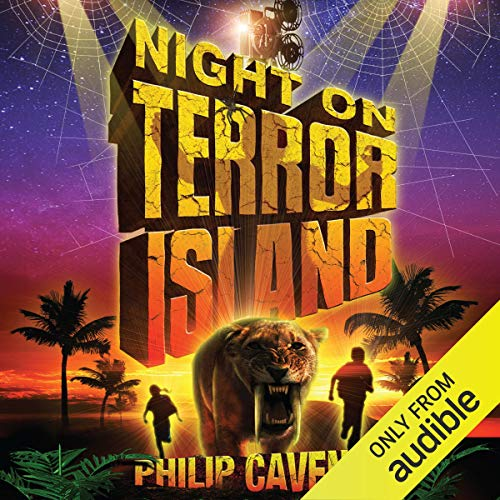 Night on Terror Island audiobook cover art