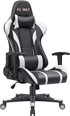 Furmax Gaming Office Chair Ergonomic High-Back Racing Style Adjustable Height Executive Computer Chair (
