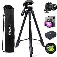 پایه تلفن سه پایه Endurax Camera Phone برای DSLR Canon Nikon با نصب جهانی تلفن ، سطح حباب و کیف حمل