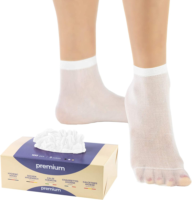 Calze Igieniche Premium Monouso per prova calzature