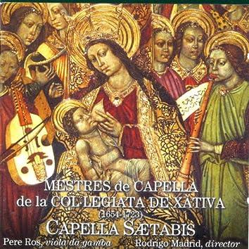 Mestres De Capella De La Col-Legiata De Xàtiva