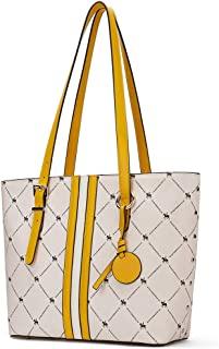 WESTBRONCO Leder Handtasche Damen Schultertaschen Designer Shopper Taschen Tote Bag