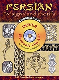 Persian Designs and Motifs CD-ROM and Book (Dover Electronic Clip Art)