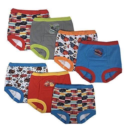 Handcraft Disney Cars Boys Potty Training Pants Underwear Toddler 7-Pack Size 2T