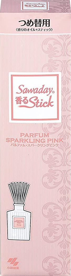 ギャンブル平和モットーサワデー香るスティック 消臭芳香剤 パルファムスパークリングピンク 詰め替え用 70ml