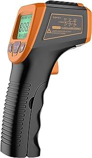 Sangmei Pistola de temperatura digital de termômetro industrial -58 ° F a 1112 ° F (-50 ° C a 600 ° C) com display LCD não...