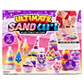 Made By Me Ultimate Sand Art Kit by Horizon Group Usa, Includes 13 Colors Of Sand, 1 Glow In The Dark Sand, 8 Sand Bottles, 3 Pack of Glitter, Sticker Sheet & More (Amazon Exclusive), Multicolor