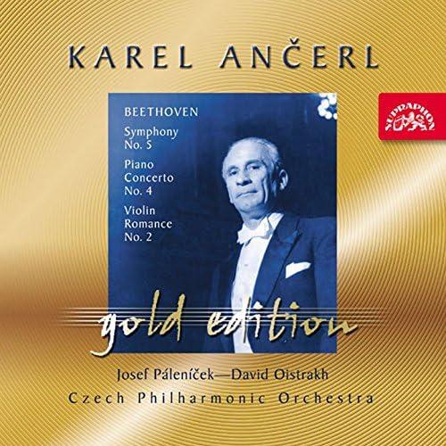 Josef Páleníček, David Oistrakh, Karel Ančerl, Czech Philharmonic