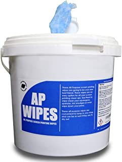Ecotex-All Purpose Screen Printing Shop Wipes-Clean Up Ink (150 Wipes)