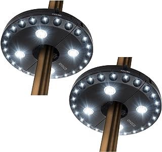OYOCO Patio Umbrella Light 3 Brightness Modes Cordless 28 LED Lights at 200 lumens-4 x AA Battery Operated,Umbrella Pole L...
