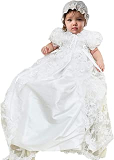 Candy Baby Beautiful Vintage Victorian Lace Christening Gown Dress