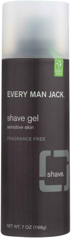 Every Man Jack Shave Gel - Skin Sensitive Fragrance Free o New Shipping 7 Popular