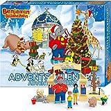 CRAZE Premium The Elephant Adviento Benjamín, el Elefante 2019 Calendario de Juguete para los niños para Navidad 19498, coloré