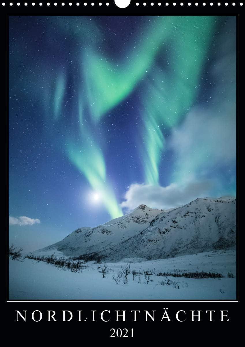 Nordlichtnächte Genuine Wandkalender 2021 DIN Super popular specialty store A3 hoch