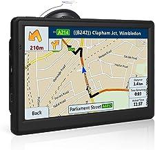 NETVIP GPS Navigation for Car 7 Inch, 2020 Vehicle GPS Navigation with Bluetooth, Car GPS Navigation System Lifetime Free ...