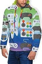 Mens Long Sleeves Hoodies Pullover Hooded Sweatshirts Slim Fit Tracksuits