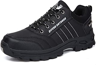 Military Tactical Boots for Men Leather Outdoors Round Toe Sneakers 36-47