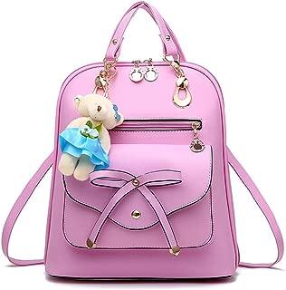 Women Teens Girls Leather Backpack Purse Satchel Shoulder School Bags College