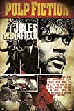 Pulp Fiction Jules Winnfield Filmposter Kino Quentin