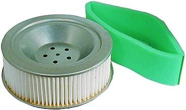 zon New Fits Stens 102-182 Lawn Mower Air Filter Combo fits John Deere 777 797 X475 X485 X575