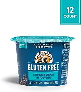 King Arthur Flour Gluten-Free Single Serve Super Fudge Brownie Mix, 12 Count (Pack of 1)