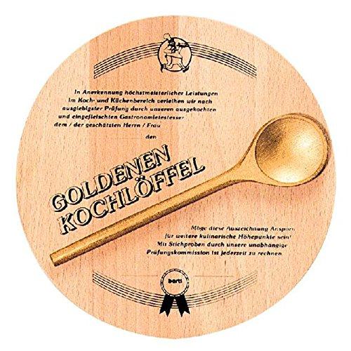 BARTL Goldener Kochlöffel