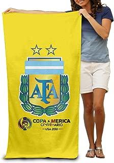 LOKIKA 2016 Copa America Centenario Argentina Beach Or Pool Towel Oversized 31.5