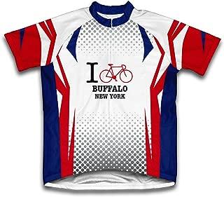 ScudoPro Buffalo New York NY Cycling Jersey for Men