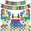 スーパーマリオ 誕生日 飾り付け 風船 バースデー バルーン 飾り 男の子 happy birthday 装飾 セット