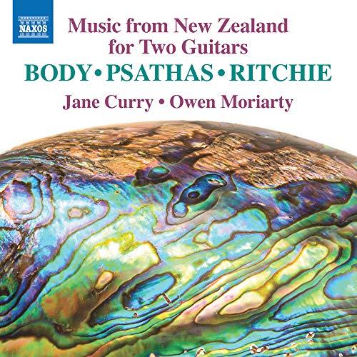 2台ギターのためのニュージーランド音楽集