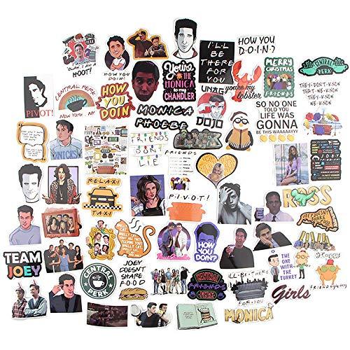 YCYY 66 American Drama Old Friends Note Stickers Travel Box Skateboard Refrigerator Laptop Body Label Stickers