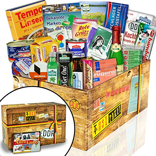 """Ostpakete """"DDR SPEZIALITÄTEN BOX"""" / Geschenkeset Geburtstag für Freund"""