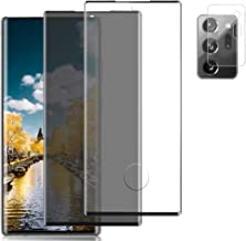 """[2+1] Privacy/HD Screen Protector + Camera Lens Protector for Samsung Galaxy Note 20 Ultra (6.9""""), 9H Hardness [Anti-Scrat..."""